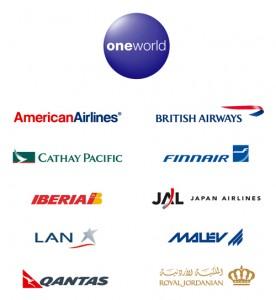 Aerolineas OneWorld logos