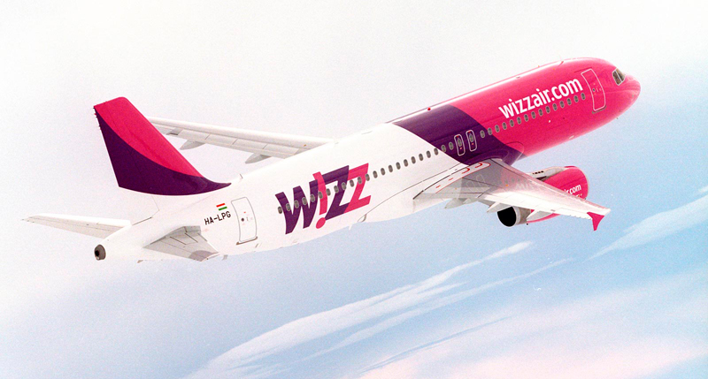 Aerolínea low cost Wizz Air