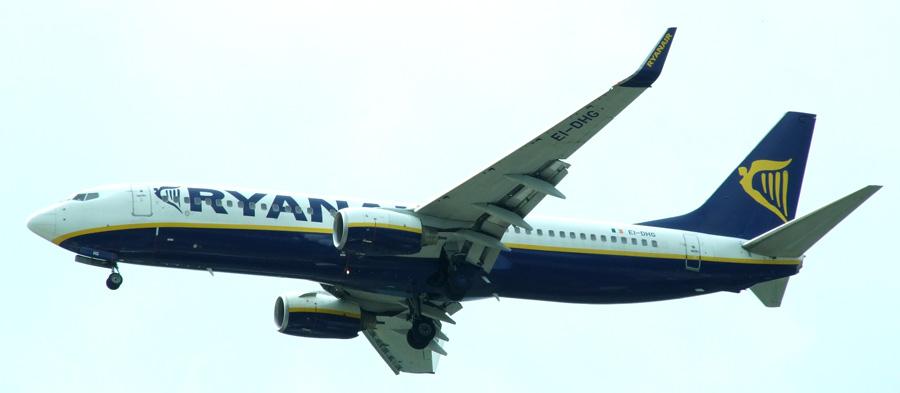 Ryanair – 10 millones de pasajeros en un sólo mes