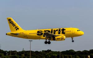 Aeronave de la compañía low cost Spirit