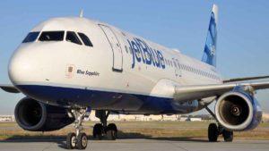Avión de JetBlue Sapphire