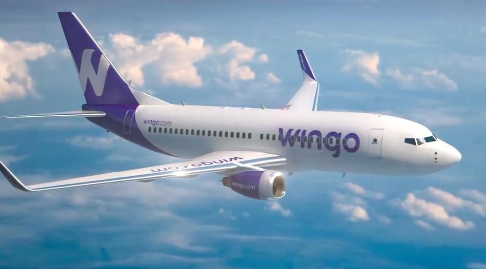 La aerolínea low cost Wingo renueva su flota y volará a nuevos destinos