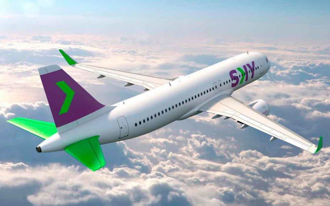 La aerolínea low cost Sky Airline inicia vuelos domésticos en Perú