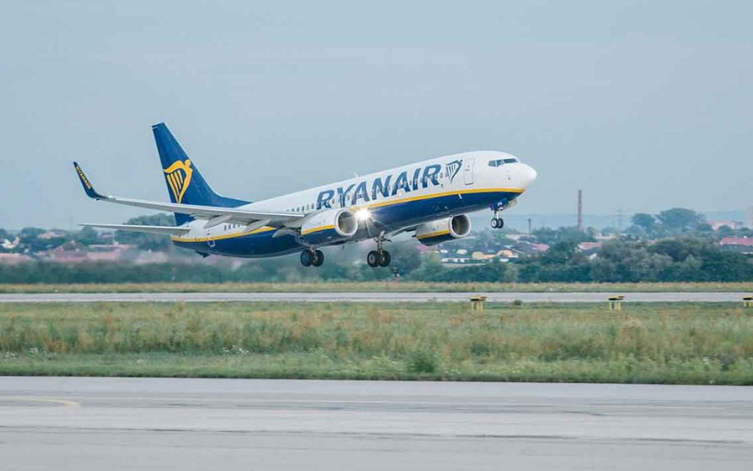 Ryanair, una de las compañías más contaminantes en Europa