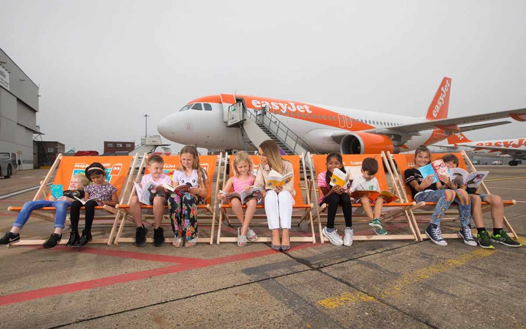easyJet flying libraries