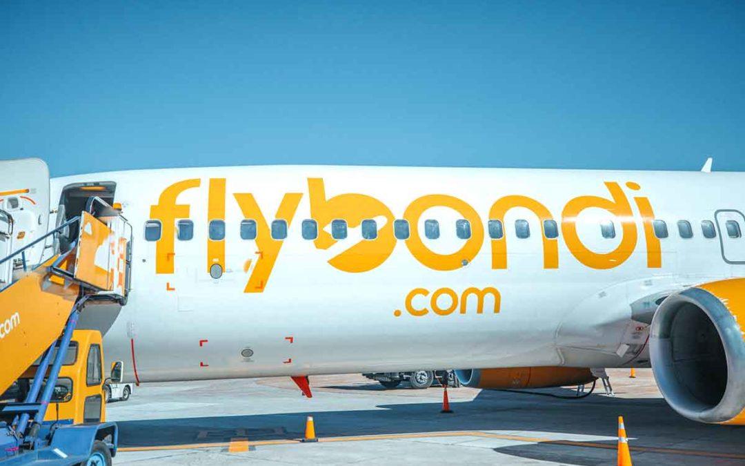 Nueva conexión aérea entre Argentina y Brasil con Flybondi