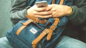 Viajero smartphone