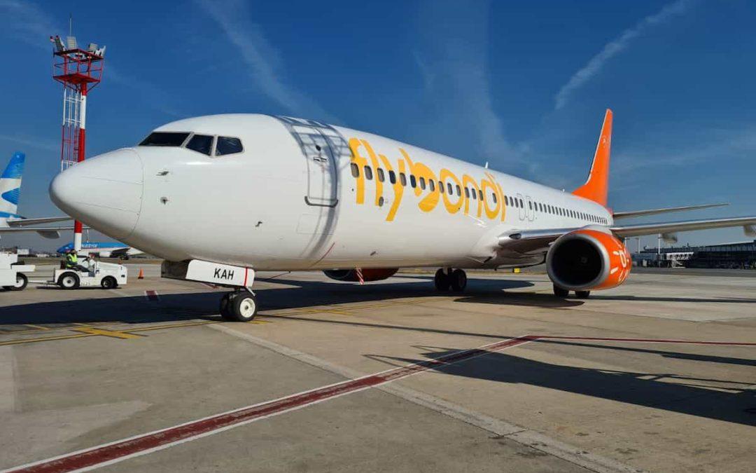 Nuevo avión para la aerolínea argentina Flybondi